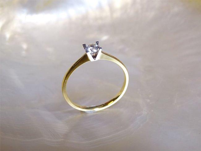 Loumya Gold | Bague | Or Bicolore | Oxyde de Zirconium