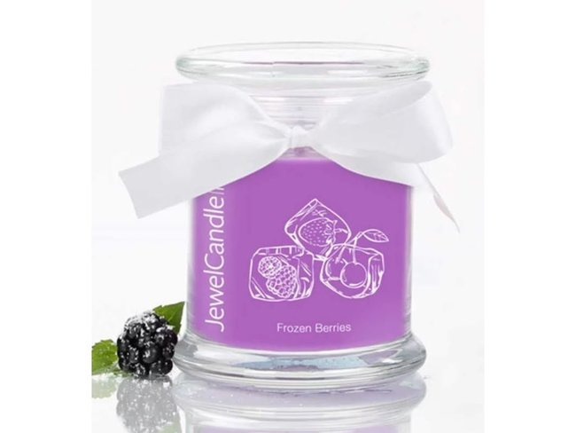 Jewel Candle | Frozen Berries Petite | Boucles