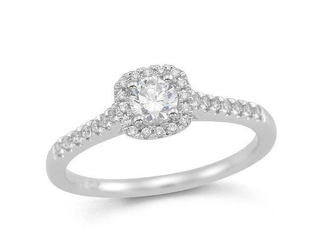 Emmilou 18K | Bague | Or Blanc | Diamants | R153