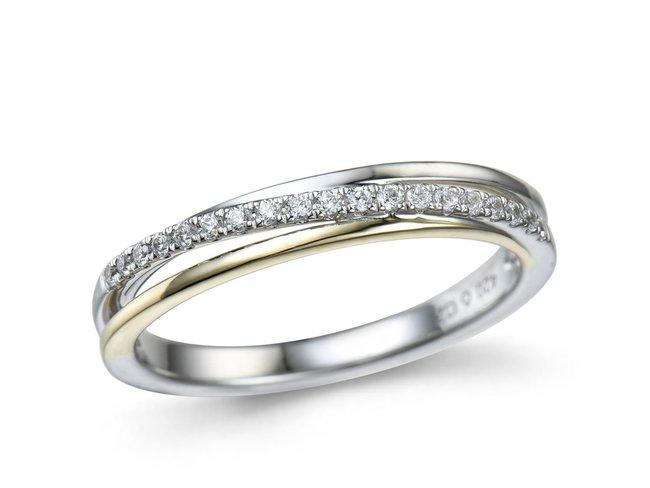 Emmilou 18K | Bague | Or Bicolore | Diamants