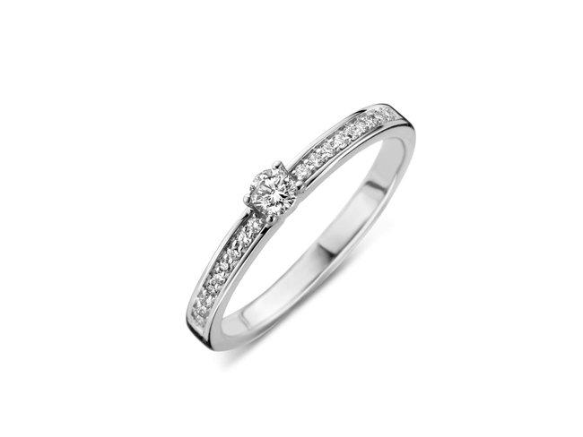 Loumya Gold | Bague | Or Blanc | Diamants