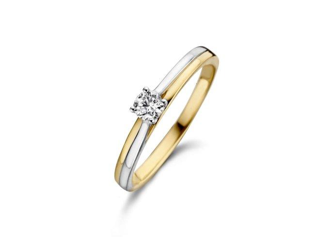 Loumya Gold | Bague | Or Bicolore | Diamant