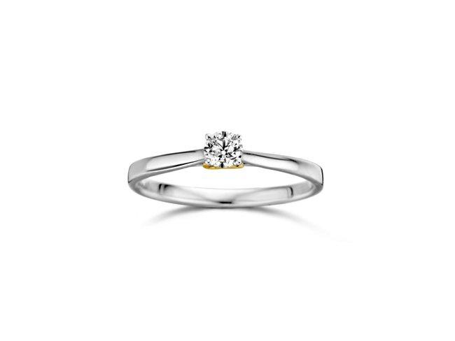 Loumya Gold | Bague | Or Blanc | Diamant | Infinity