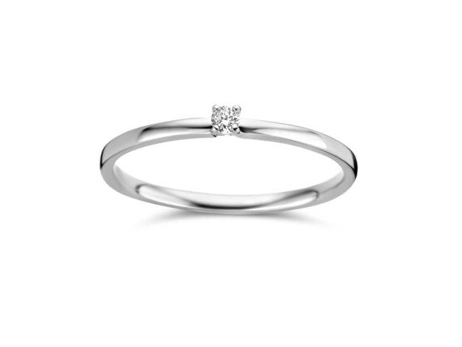 Loumya Gold | Bague | Or Blanc | Diamant