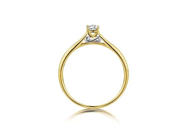 Loumya Gold | Bague | Or Jaune | Diamant