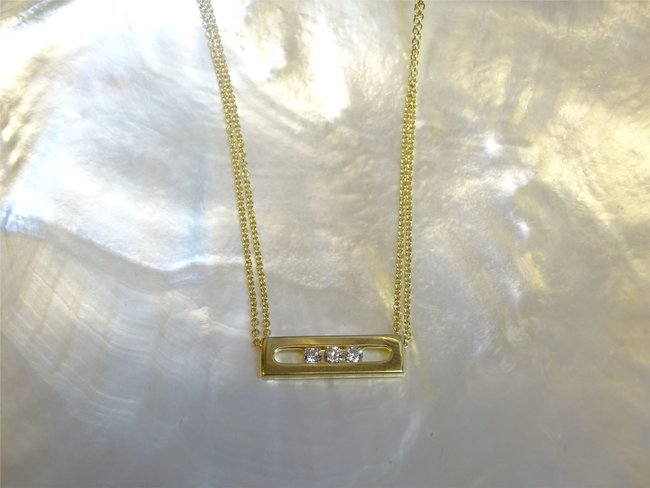 Loumya Gold | Collier | Or Jaune | Diamants