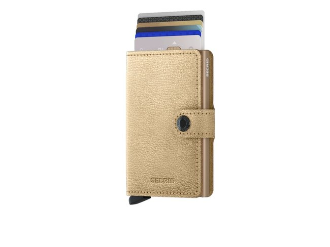 Secrid | MINIWALLET | ANTIQUE | GOLD