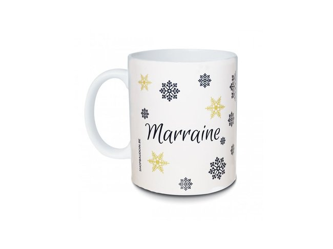 MUGS | Joyeux Noël | Marraine | 0TB500