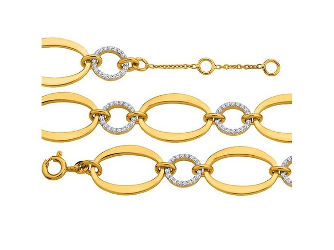 Saunier | Bracelet | Plaqué Or | 7026464 01