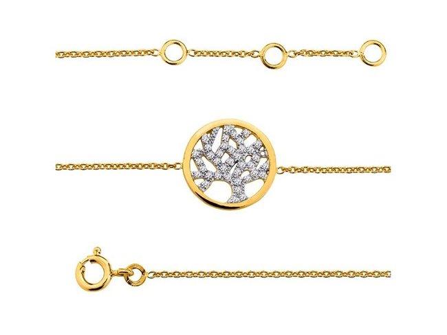 Saunier | Bracelet | Plaqué Or | 7024173 01
