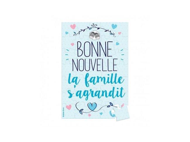 Bubble Gum | Puzzle | Bonne Nouvelle La Famille s'Agrandit