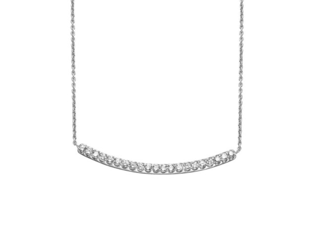 One More | Collier | Or Blanc | Diamants | 052418/A