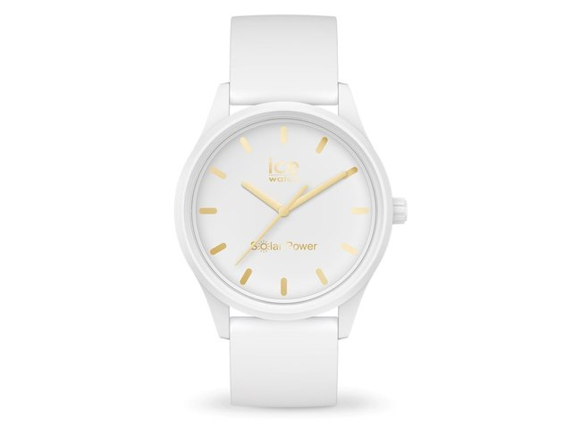 Ice-Watch | Ice Solar Power | Whithe Gold | Small | 018474