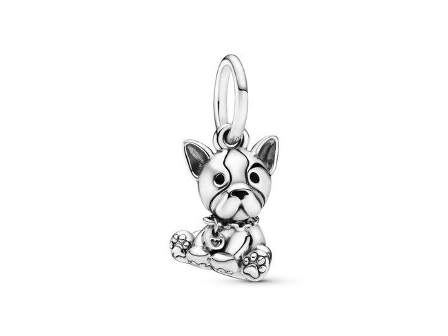 Pandora   Charm   Pendant Chiot Bulldog   798008EN16