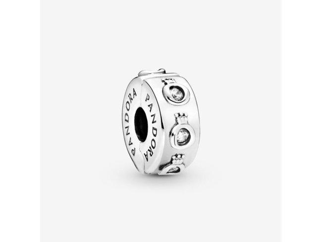 Pandora   Charm   Clip   Couronné Scintillant   798326CZ