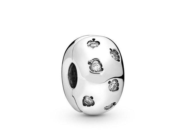 Pandora   Charm   Clip   Feuilles Scintillantes   798345CZ