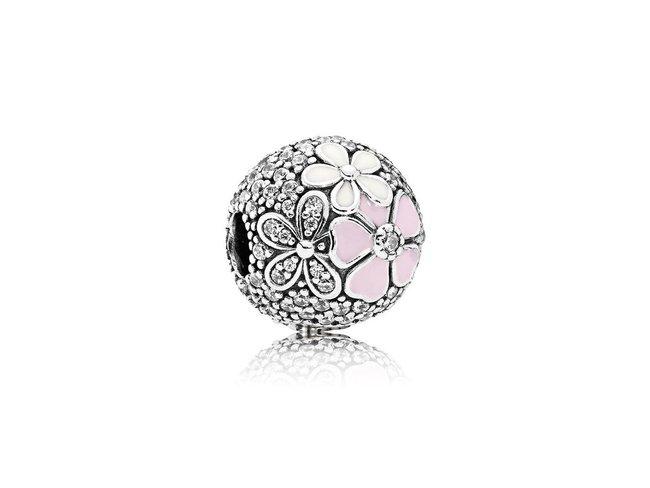 Pandora   Charm   Clip   Bouquet Floral Pavé   792084CZ