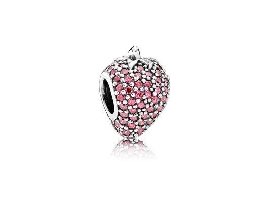 Pandora   Charm   Pavé Strawberry   791899CZR