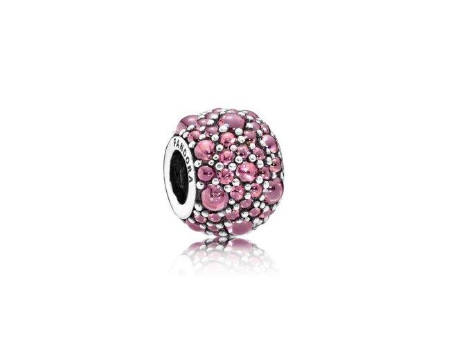 Pandora   Charm   Goulette Scintillante Rose   791755HCZ