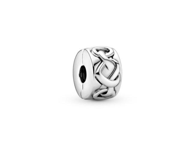 Pandora   Charm   Clip   Coeurs Noués   798035