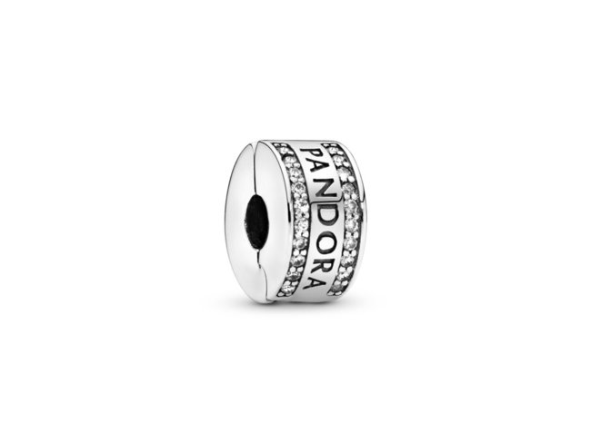 Pandora   Charm   Clip   Signature   792056CZ