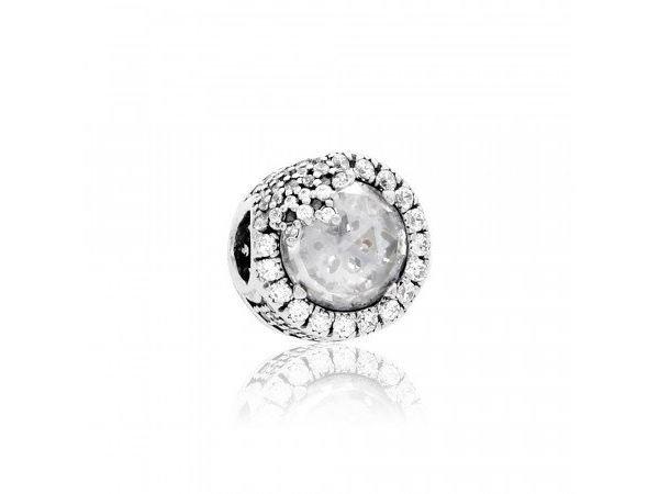 Pandora   Charm   Dazzling Snowflake Silver   796358CZ
