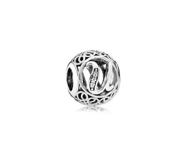 Pandora | Charm | Vintage U | 791865CZ
