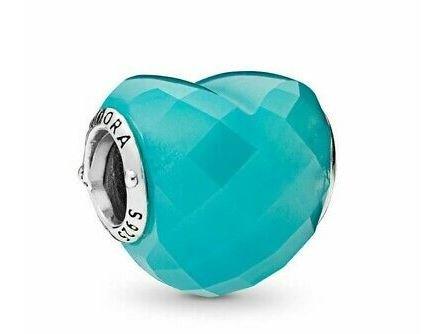 Pandora | Charm | Murano | Love Turquoise | 796563NSC