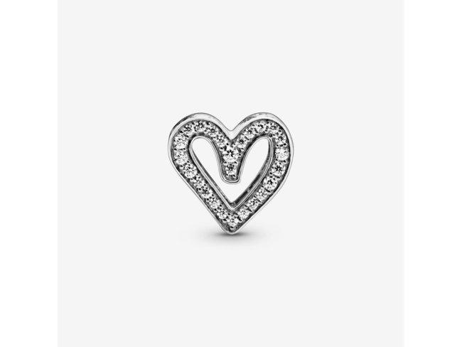 Pandora | Charm | Cœur Dessiné Scintillant | 798692C01
