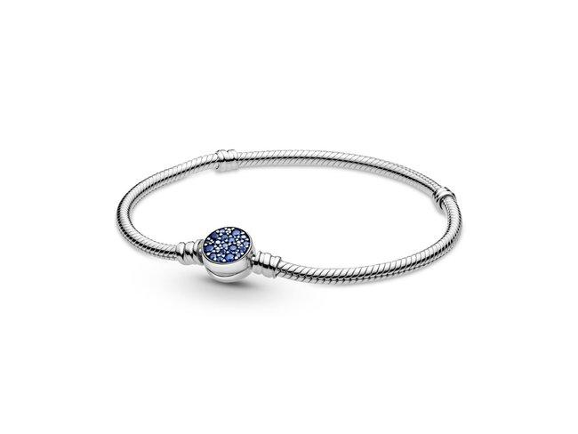 Pandora | Bracelet | Moments | Médaillon Bleu | 599288C01