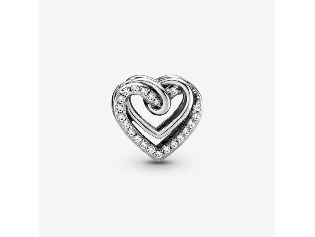 Pandora   Charm   Cœurs Entrelacés Scintillant   799270C01