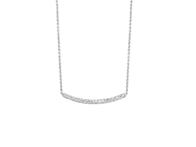 One More | Collier | Ischia | Or Blanc | Diamants | 052416A