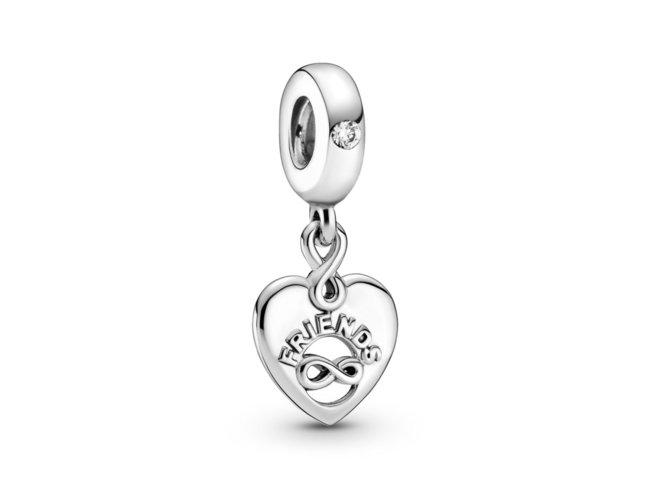 Pandora   Charm   Cœur Amis Pour Toujours   799294C01