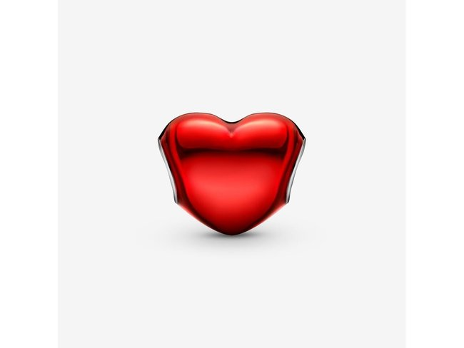 Pandora   Charm   Cœur Rouge Métallique   799291C02