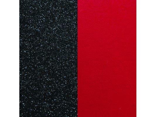Les Georgettes | Cuirs |Boucles d'Oreilles |Paillettes Noires/Rouge