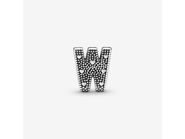 Pandora | Charm | Alphabet Lettre W | 797477