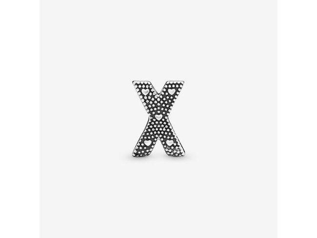 Pandora | Charm | Alphabet Lettre X | 797478