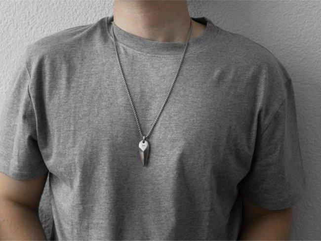 AZE Jewels | Collier | Triangle Inox | AZ-NL004-A