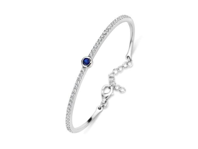 Naiomy Silver   Bracelet   Argent   Oxyde de Zirconium   B9T08
