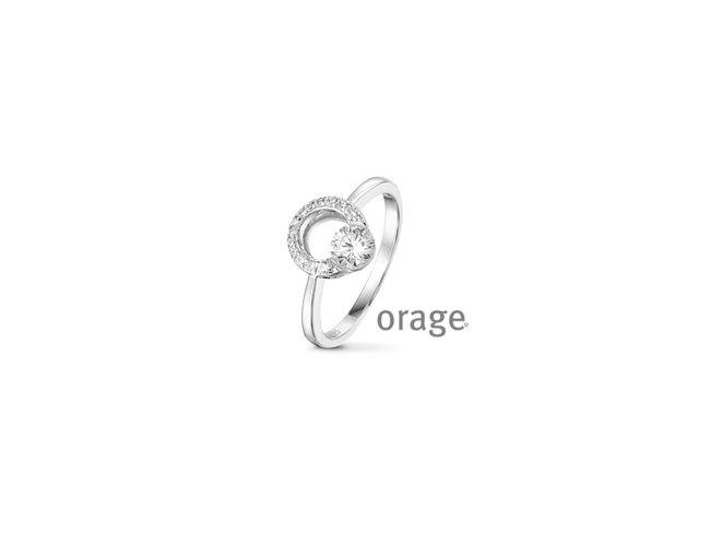 Orage   Bague   Argent   Oxyde de Zirconium   V1453