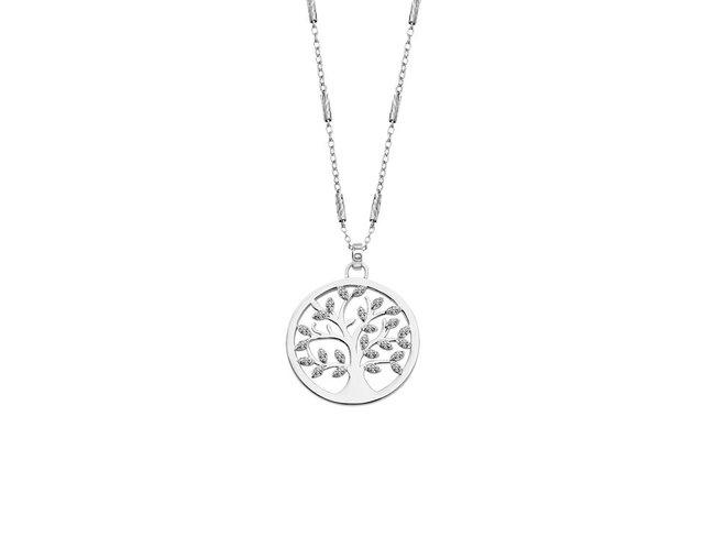 Lotus Silver | Collier | Argent | Arbre de Vie | LP1892-1/1