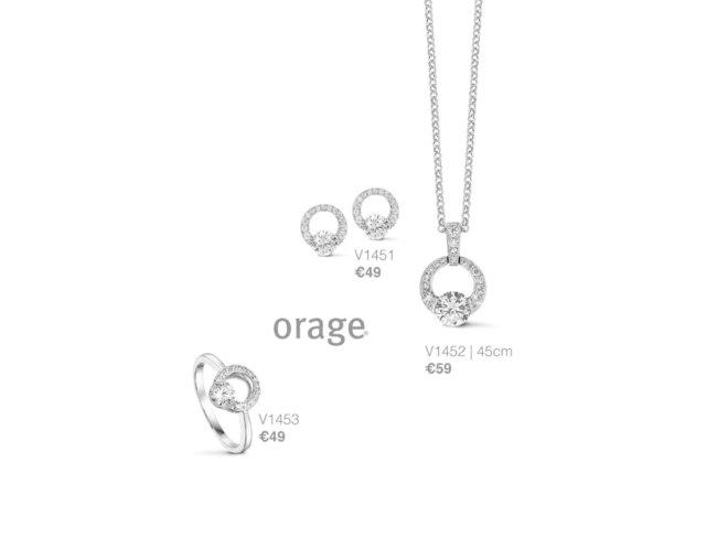 Orage | Boucles d'Oreilles | Argent | K1451