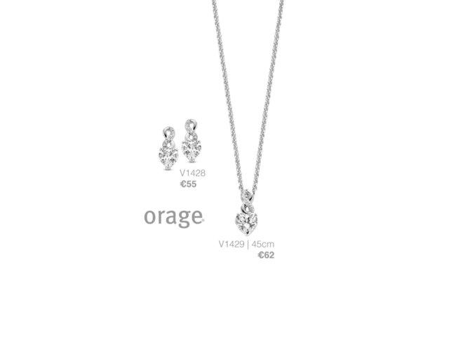 Orage | Collier | Argent | Coeur Infini | V1429