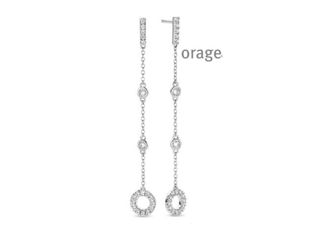 Orage | Boucles d'Oreilles | Argent | V1415