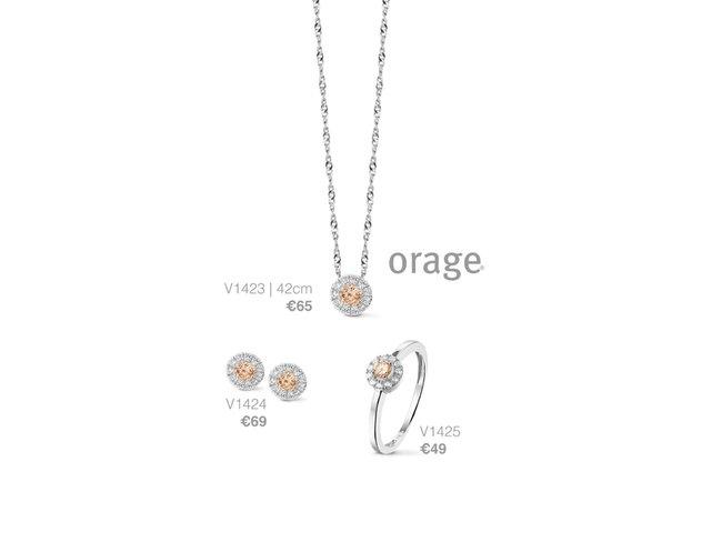 Orage | Boucles d'Oreilles | Argent | V1424
