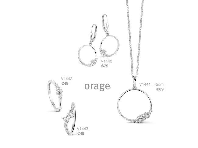 Orage | Boucles d'Oreilles | Argent | V1440