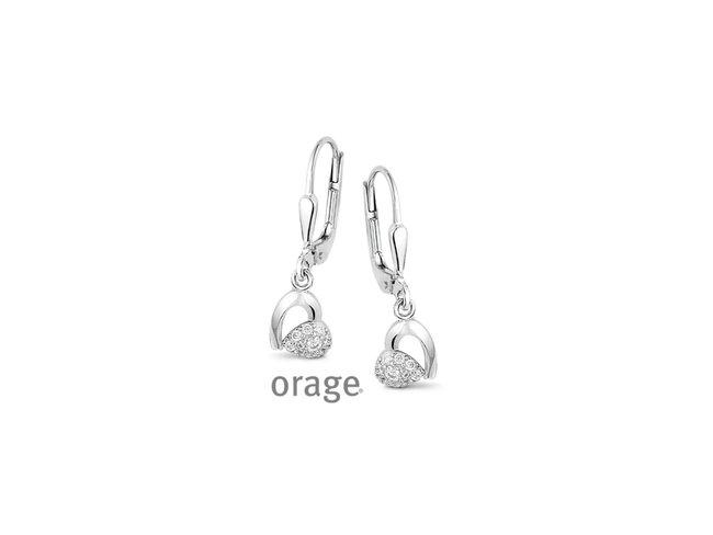 Orage | Boucles d'oreilles | Coeur | V1420