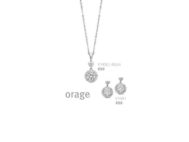 Orage | Boucles d'Oreilles | Argent | V1431