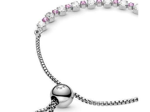 Pandora | Bracelet | Coulissant Éclat Rose & Incolore