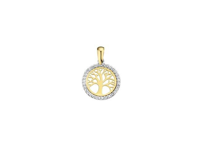 Loumya Gold | Pendentif | Or Bicolore | Arbre de Vie